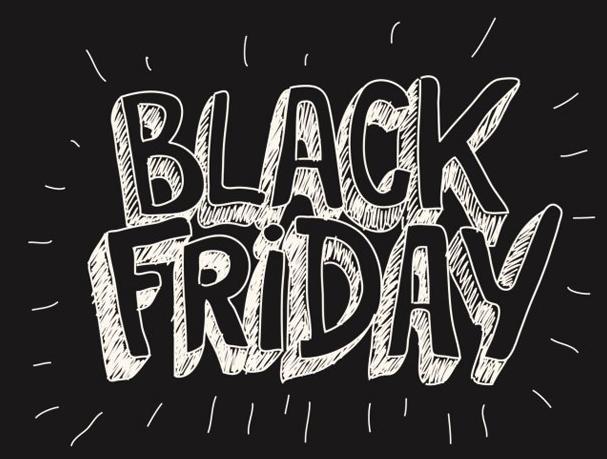 Чорна п'ятниця - знижки до 50%
