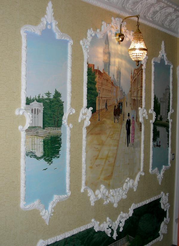 Фрески на стену