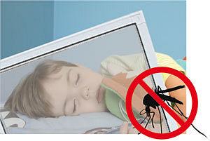 Москитные сетки от пуха и комаров, цена от 120 грн.