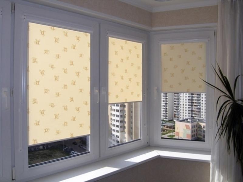 Ассортимент и цены на рулонные шторы