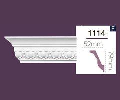 Карниз с орнаментом Home Decor 1114 (2.44м) Flex