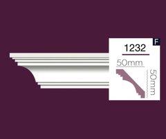 Гладкий карниз Home Decor 1232 (2.44м) Flexi