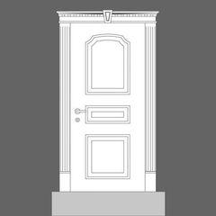 Дверная панель Orac Decor Door Inspiration 6