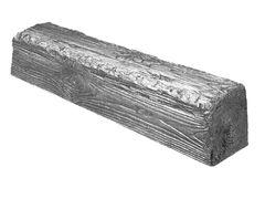 Декоративная балка Decowood Рустик EQ 007 (4м) classic сіра 6х9