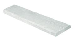 Декоративная панель Decowood Рустик ET 305 (3м) classic белая 19х3,5