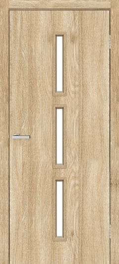 Двери Omis T03 ПО NL дуб Саванна
